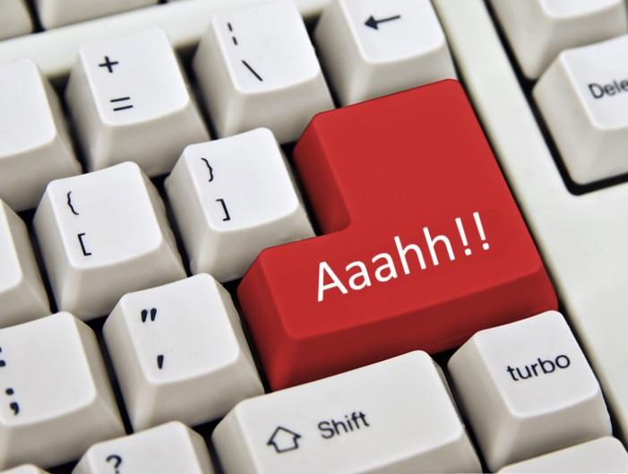 klavye sorunu